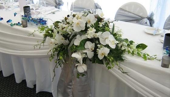 Цветочное великолепие свадебного торжества