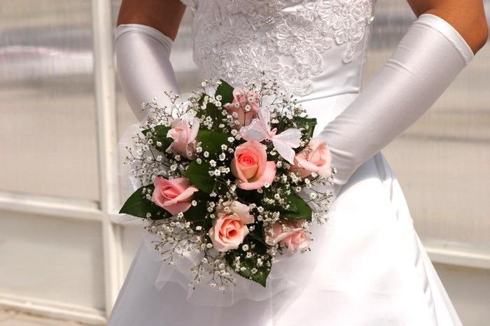 свадебные букеты, цветочный магазин