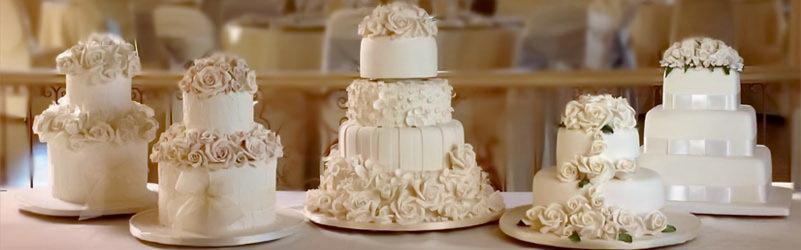 классический торт на свадьбу
